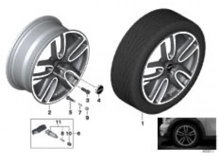 MINI LA wheel JCW Course Spoke 523 - 19