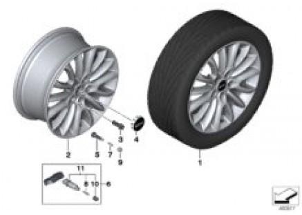 MINI LA wheel Net Spoke 519 - 17