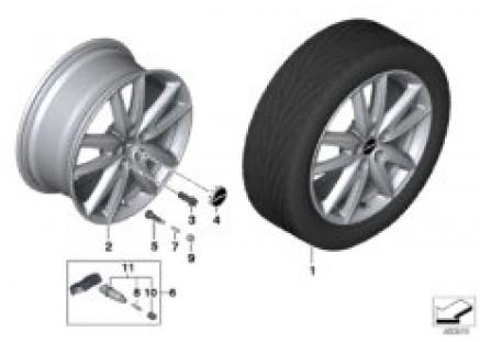 MINI LA wheel JCW grip spoke 520 - 18