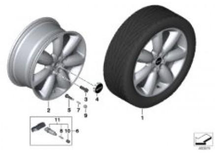 MINI LA wheel star spoke 521 - 18