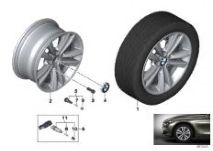 BMW LA wheel V-spoke 656 - 16