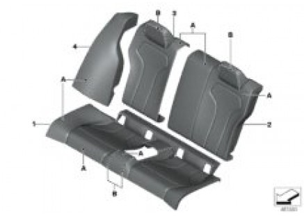 Individual option cover rear seat