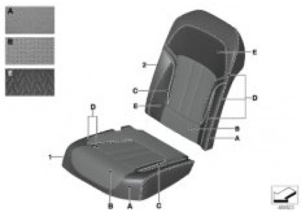 Ind. covering comfort seat aircon rear