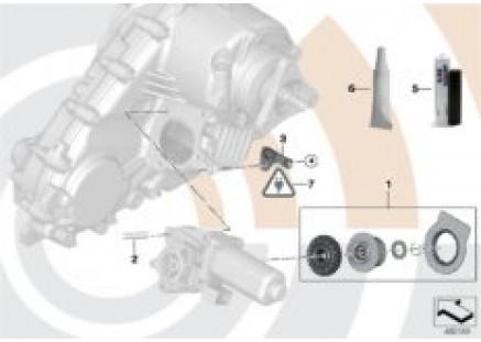 Repair kit servomotor