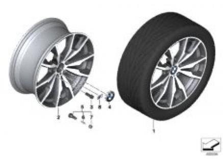 BMW LA wheel M double-spoke 680 - 20