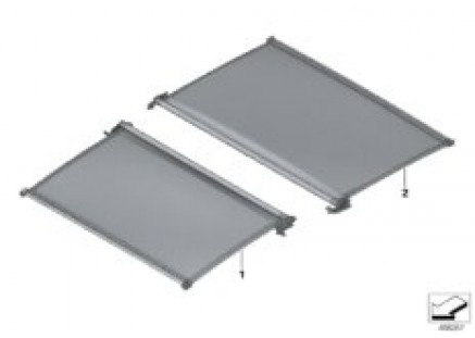 Individual panor.glass roof roll.sunbl.