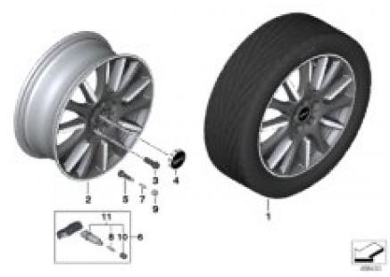 MINI LM wheel High Spoke 596