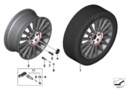 MINI LM wheel JCW Rallye Spoke 536 - 19
