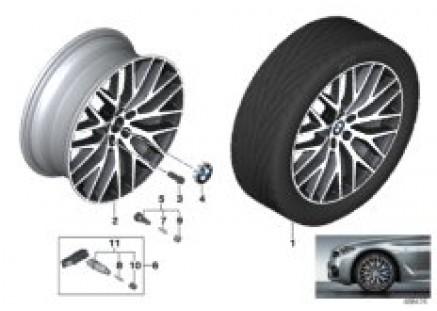 BMW LM wheel cross-spoke 636 - 20