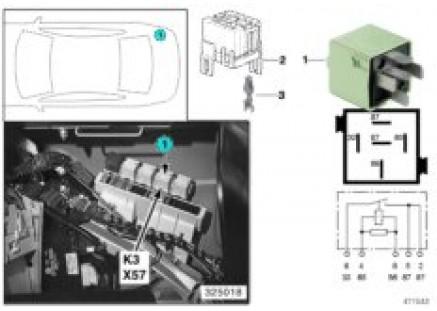 Relay, load-shedding, Terminal R K3
