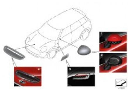 JCW aerodynamics accessory parts ¿ F54
