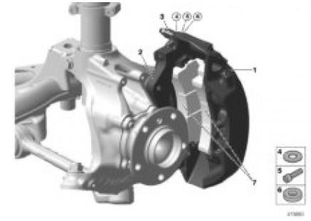 Front brake AP-Racing