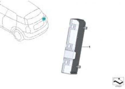 Control unit for decklid function module