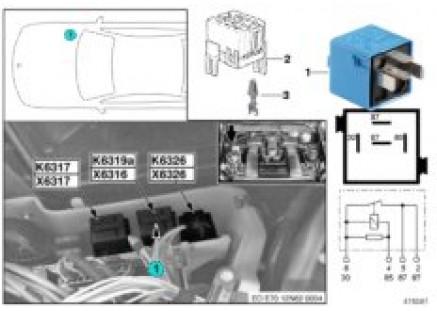 Relay for Valvetronic K6319a
