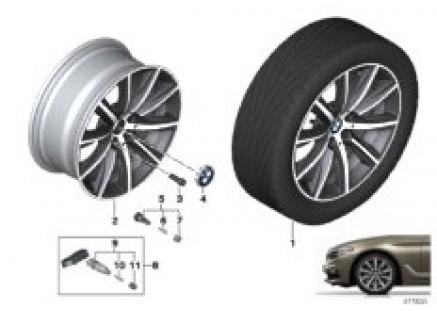 BMW LA wheel V-spoke 684 - 18