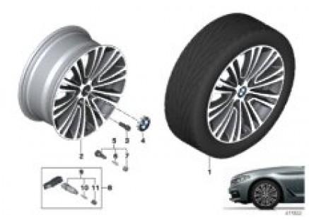 BMW LA wheel double spoke 634 - 18