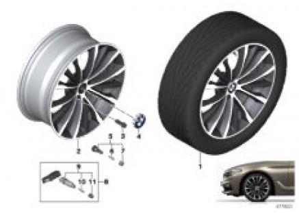 BMW LA wheel W-spoke 663 - 19