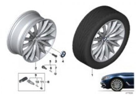 BMW LA wheel multi-spoke 633 - 19