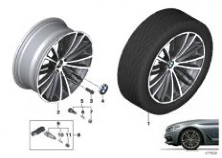 BMW LA wheel V-spoke 635 - 19