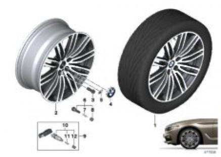 BMW LA wheel double spoke 664M - 19