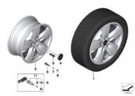 MINI LA wheel revolite spoke 517 - 16