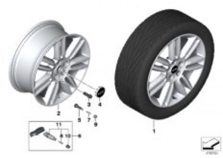MINI LA wheel Pair Spoke 532 - 18