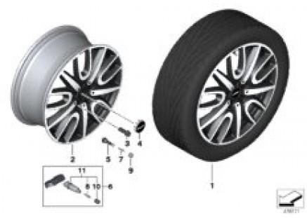 MINI LA wheel JCW Thrill Spoke 529 - 18
