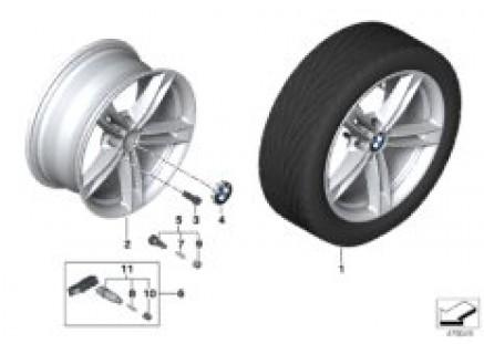BMW LA wheel star spoke 707 - 18