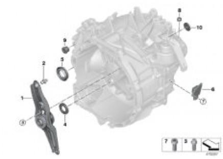 Single transmission components GS6-59DG