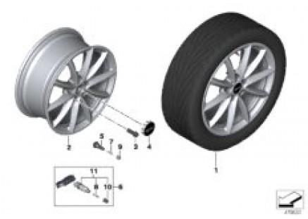 MINI LA wheel Light Spoke 683 - 17
