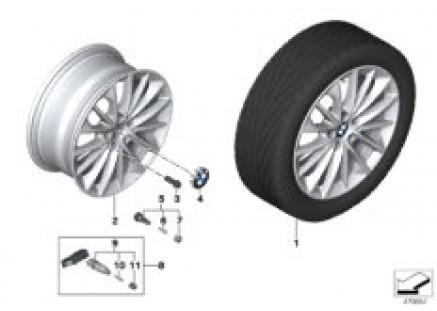 BMW LA wheel multi-spoke 546 - 17