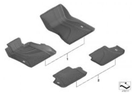 Interior equipment components