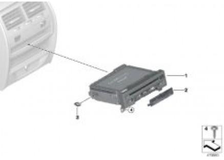 Rear seat entertainment DVD player