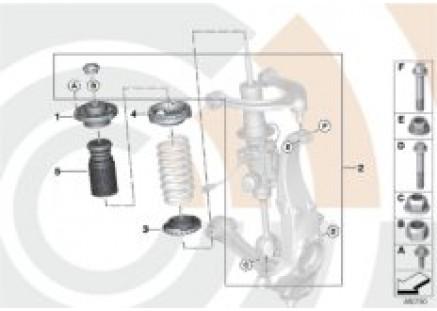 Installation kit support bearing