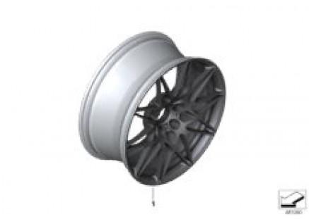Individ.opt.LA wheel M double spoke 666M