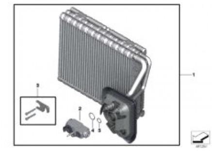 Evaporator / Expansion valve