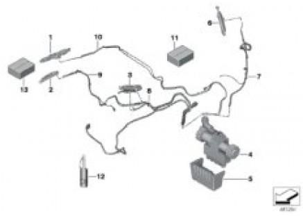 Hardtop, retractable, hydraulic parts