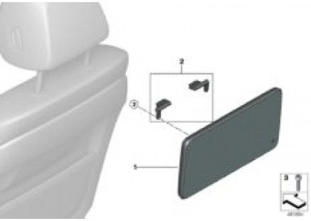 Rear compartment monitor