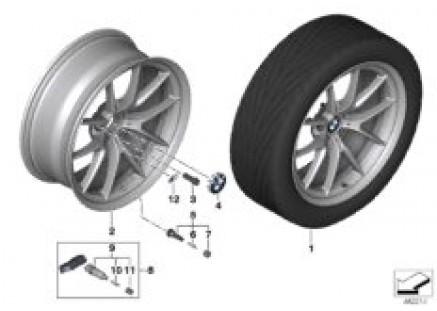 BMW LA wheel Y-spoke 763M
