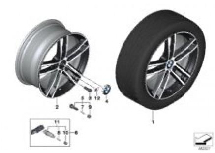 BMW LA wheel M double-spoke 719 - 18