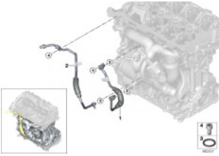 Cooling-system turbocharger