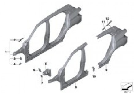 Body-side frame