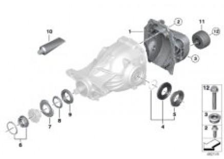 Rear-axle-drive parts