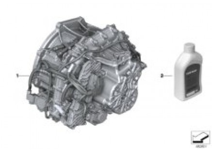 Double-clutch transmission 7DCT300