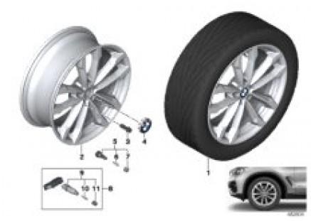 BMW LA wheel V-spoke 691 - 19