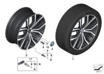 BMW LA wheel M Y-Spoke 701M Performance