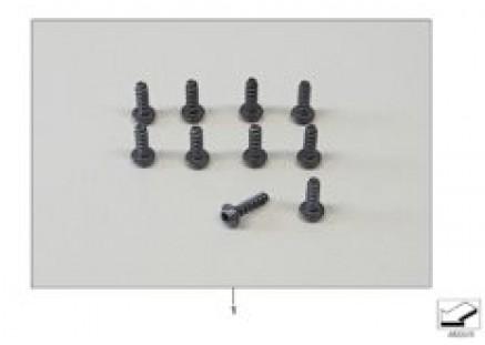 Set of screws