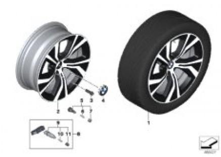 BMW LA wheel turbine styling 689 - 18