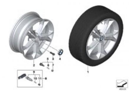 BMW LM Rad Doppelspeiche 688 - 18