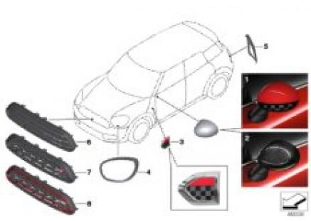 JCW aerodynamics accessory parts ¿ F60